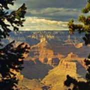 Grand Canyon Peek Art Print
