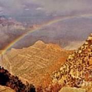 Grand Canyon Rainbow Art Print
