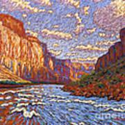 Grand Canyon Riffle Art Print