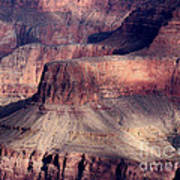 Grand Canyon Shapes Art Print