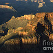 Grand Canyon Symphony Of Light And Shadow Art Print