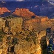 Grand Canyon - The Wonders Of Light And Shadow - 1a Art Print