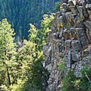 Grand Canyon Walls Lan 183 Art Print