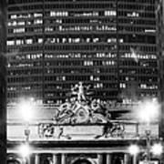 Grand Central Pan Am Building Art Print