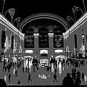 Grand Central Terminal Poster Art Print
