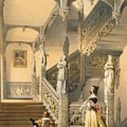 Grand Elizabethan Staircase Art Print