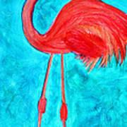 Grand Flamingo Art Print