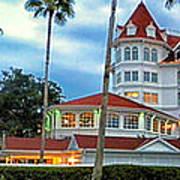 Grand Floridian Resort Walt Disney World Art Print