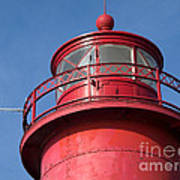Grand Haven Red Art Print
