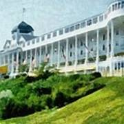 Grand Hotel Mackinac Island Ll Art Print