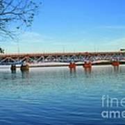 Grand Island Bridge 2 Art Print