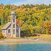 Grand Island East Channel Lighthouse Art Print