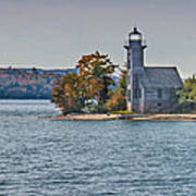 Grand Island Lighthouse. Art Print