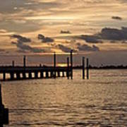 Grand Isle Sunset # 1 Art Print