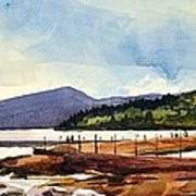 Grand Marais Lighthouses Art Print