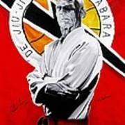 Grand Master Helio Gracie Art Print