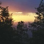 Grand Mesa Sunset Art Print