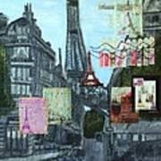 Grand Ole Paris-postcard From Paris Art Print