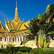Grand Palace - Cambodia Art Print
