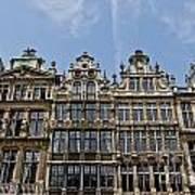 Grand Place Brussels Art Print