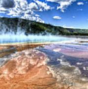 Grand Prismatic Spring - Yellowstone Art Print