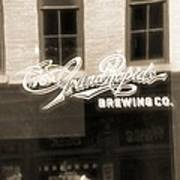 Grand Rapids Brewing Co Art Print