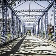 Grand Rapids Bridge Art Print