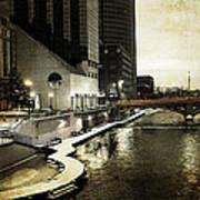Grand Rapids Grand River Art Print