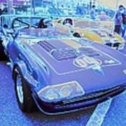 Grand Sport Corvette Art Print