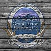 Grand Teton Brewing Art Print