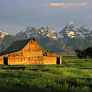 Grand Teton National Park , Wyhomestead Art Print