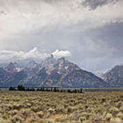 Grand Thunder - Grand Teton National Park - Wyoming Art Print