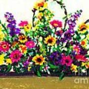 Grandchildren's Bouquet Art Print