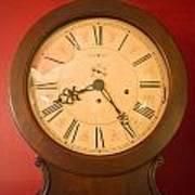 Grandfather Clock Top 1 Art Print