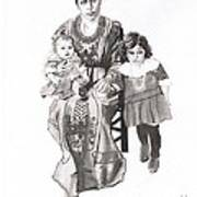 Grandma's Family Art Print
