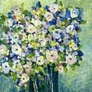 Grandma's Flowers Art Print