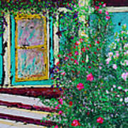 Grandma's Porch Art Print