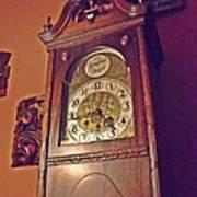 Grandmother Clock Art Print