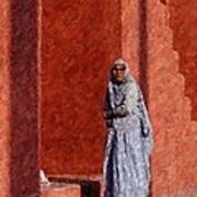 Grandmother In India Art Print