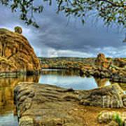 Watson Lake Prescott Arizona Art Print