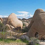Granite Rock Formations Art Print