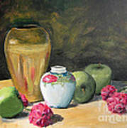 Granny's Apples Print by Lilibeth Andre