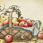 Granny's Basket Art Print