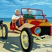 Granpas Racer Art Print