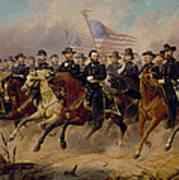 Grant And His Generals Art Print