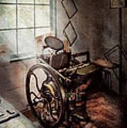 Graphic Artist - The Humble Printing Press Art Print