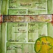 Grass Greats Art Print by Elaine Duras
