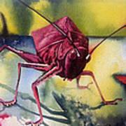 Grasshoper Art Print