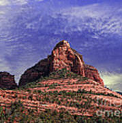 Grasshopper Point Sedona  Art Print
