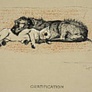 Gratification, 1930, 1st Edition Art Print